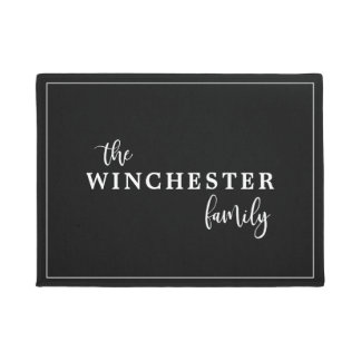 The (Your Name) Family Doormat
