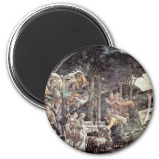 The Youth Of Moses By Botticelli Sandro Magnets