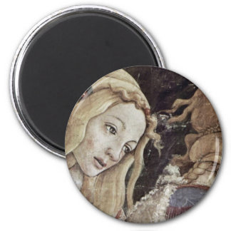 The Youth Of Moses, Detail By Botticelli Sandro 6 Cm Round Magnet