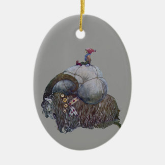 The Yule Goat Christmas Ornament
