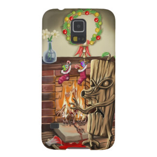 The Yule Logs Revenge Galaxy S5 Covers