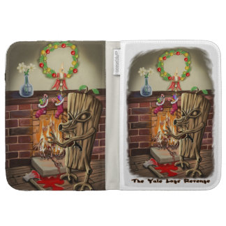 The Yule Logs Revenge Caseable Case Kindle Covers