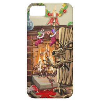 The Yule Logs Revenge iPhone 5 Case
