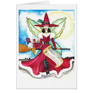 The Yuletide Fairy Card