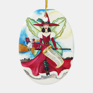 The Yuletide Fairy Ornament
