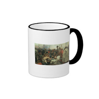 The Zaporozhye Cossacks Ringer Mug