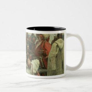 The Zaporozhye Cossacks Two-Tone Coffee Mug