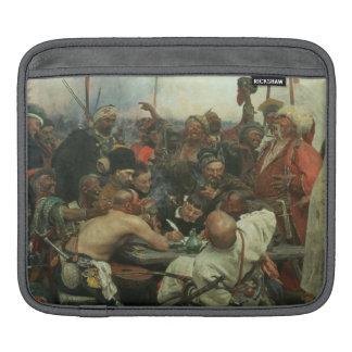 The Zaporozhye Cossacks writing a letter iPad Sleeve