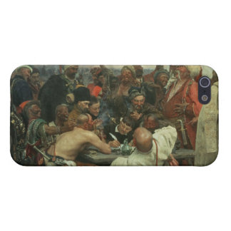 The Zaporozhye Cossacks writing a letter iPhone 5/5S Case