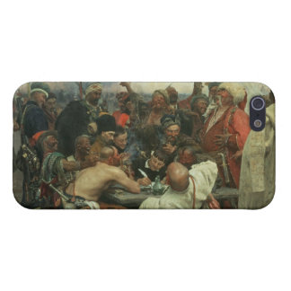The Zaporozhye Cossacks writing a letter iPhone 5/5S Cases
