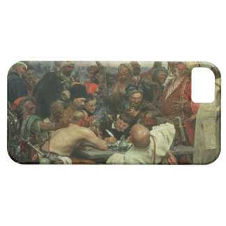 The Zaporozhye Cossacks writing a letter iPhone 5 Cover