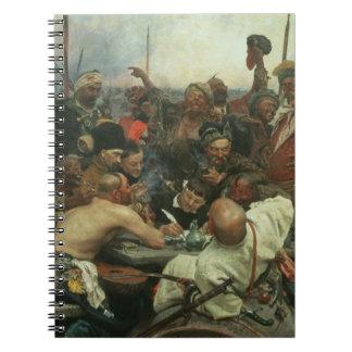 The Zaporozhye Cossacks writing a letter Notebooks