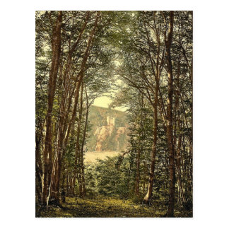 The Zauberhole (Enchanted Grotto) and Rheinstein, Postcard