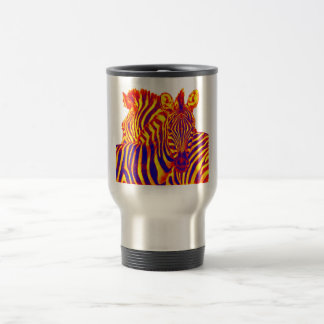 THE ZEBRA STARE TRAVEL MUG