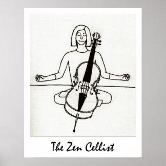 The Zen Cellist print