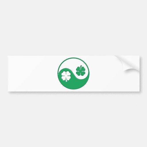 The Zen Of The Irish Bumper Sticker