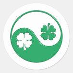 The Zen Of The Irish Classic Round Sticker