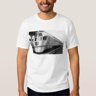 The ZepherStainless Steel Streamlined Train Tshirts