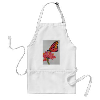 The Zinnia and the Butterfly Adult Apron
