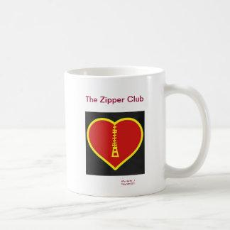 The Zipper Club Basic White Mug