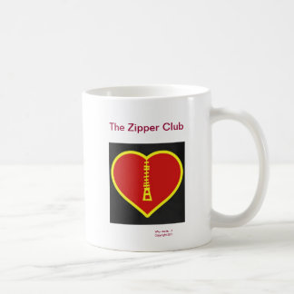 The Zipper Club Coffee Mug