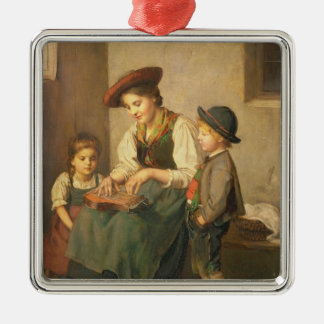 The Zither Player Christmas Ornament