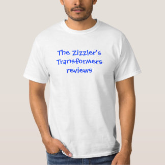 The Zizzler's youtube reviews T-shirt