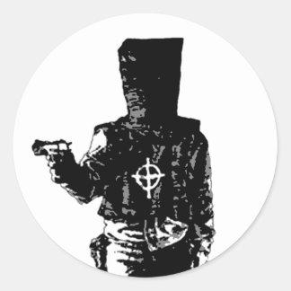 The Zodiac Killer Round Sticker