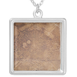The Zodiac of Dendarah Silver Plated Necklace