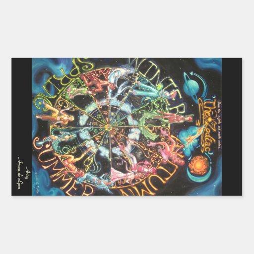 The Zodiac Stickers