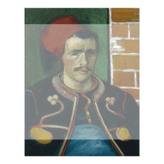 The Zouave by Vincent Van Gogh Flyers