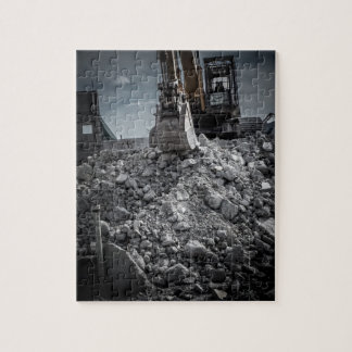 Theater Demolition Rubble Puzzle
