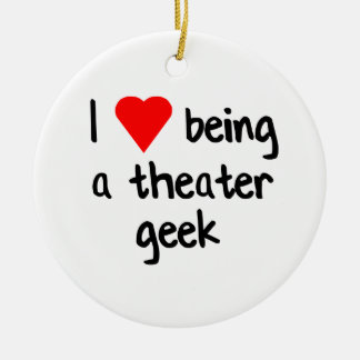 Theater Geek/Drama Nerd Gift Christmas Ornament