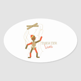 Theater Lives Stickers