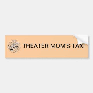 Theater Mom s Taxi Bumper Sticker