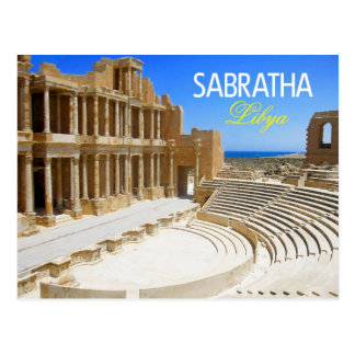 Theater Ruins of Sabratha, Libya Postcard