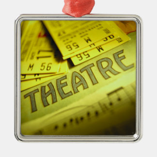 Theater Sheet Music & Tickets Christmas Ornament