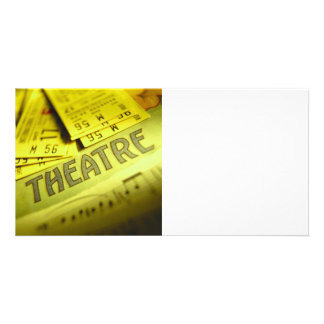 Theater Sheet Music & Tickets Photo Cards