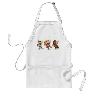 Theater snack trio aprons