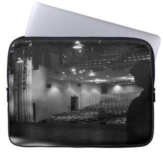 Theater Stage Black White Photo Laptop Sleeve