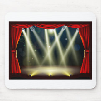 Theater stage lights mouse mats