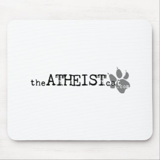 theATHEISTcat com Official Atheist Cat Apparel Mouse Pad