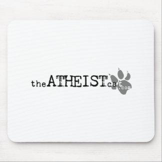 theATHEISTcat com Official Atheist Cat Apparel Mouse Pad