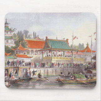 Theatre at Tien-Sing, from 'China in a Series of V Mouse Mat