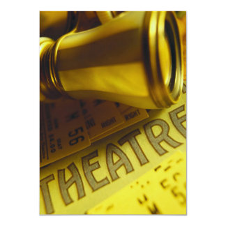 Theatre Binoculars Card