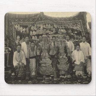 Theatre company, Burma, c.1910 Mouse Mat