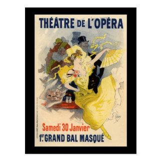 Theatre de l Opera Post Card