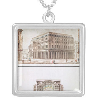 Theatre des Varietes Silver Plated Necklace