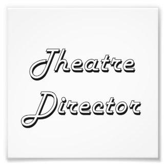 Theatre Director Classic Job Design Photo Print