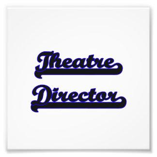 Theatre Director Classic Job Design Photo